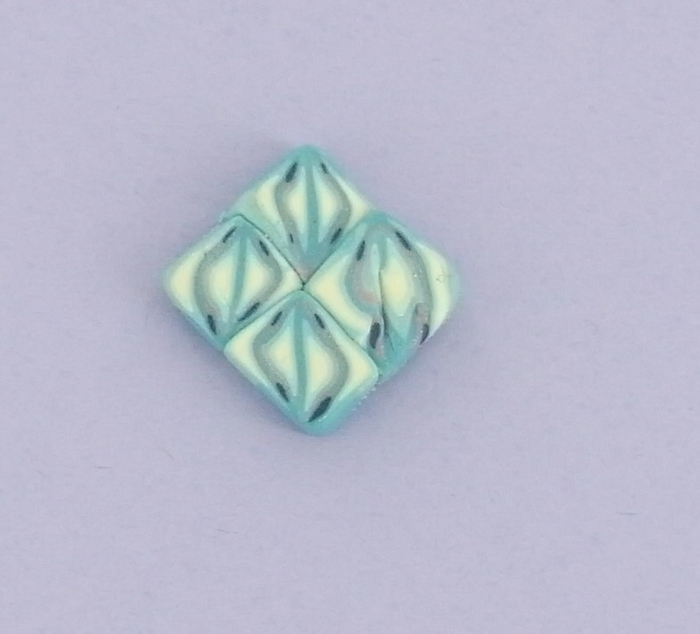 Лепка из полимерной глины. Цветочное Пасхальное яйцо (3) (700x634, 218Kb)
