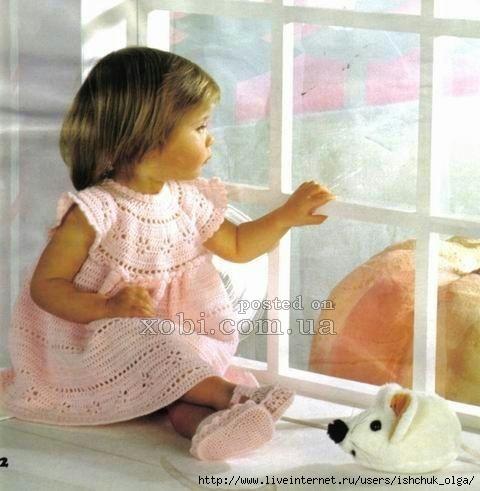Розовое платье для девочки1 (480x491, 123Kb)
