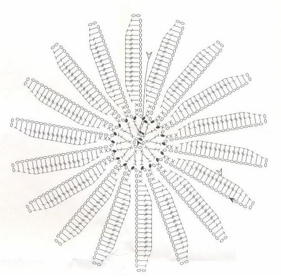 Украшение подушек кружевом крючком. Идеи и схемы (6) (553x546, 308Kb)