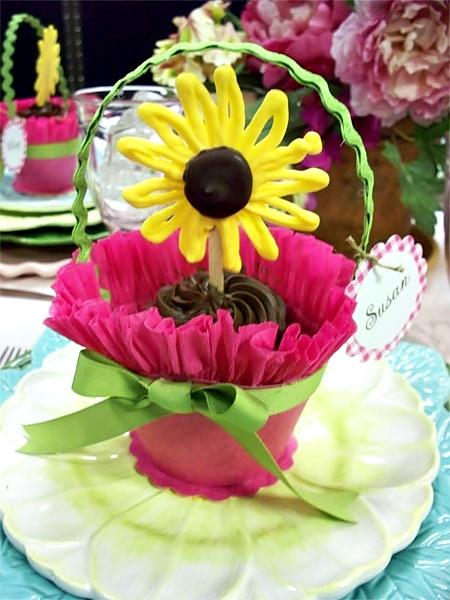 Как сделать корзину для цветов своими руками