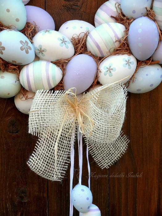 Нежный пасхально-яичный веночек (3) (525x700, 477Kb)