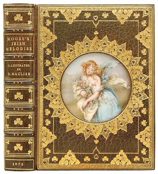 Старинная обложка для книги 179
