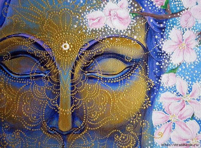 За миг до пробуждения, холст, автор Shraddha, 1 (2) (700x515, 508Kb)