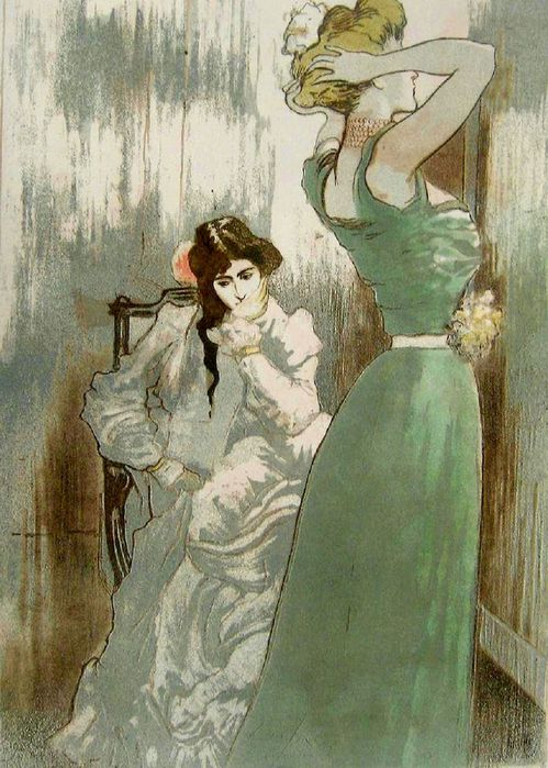 1Pierre-Georges Jeanniot (1848-1934) - La Toilette, 1910 (499x700, 83Kb)