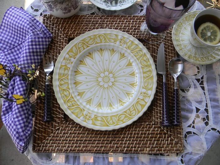 Тарелки для стола своими руками 733