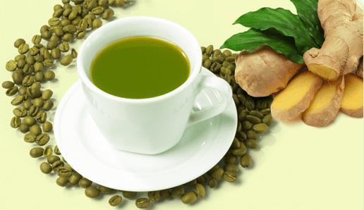 Зеленый кофе с имбирем (3) (516x298, 119Kb)