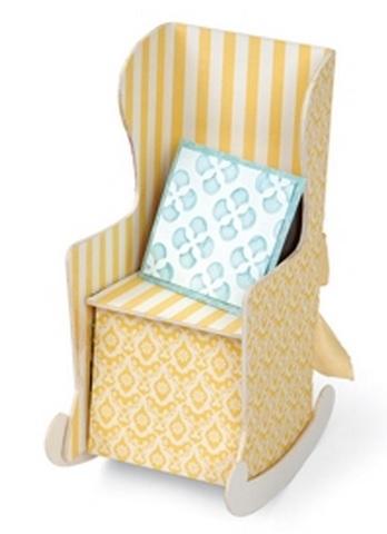 Скрапбукинг. Кресло-качалка из бумаги (9) (348x480, 96Kb)
