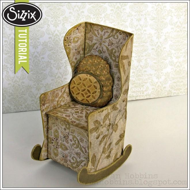 Скрапбукинг. Кресло-качалка из бумаги (11) (660x660, 336Kb)