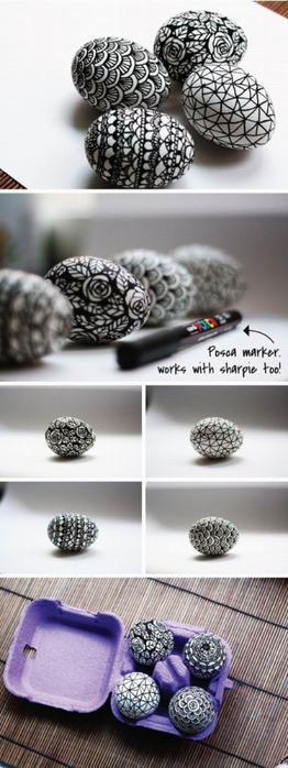 DIY-black-and-white-easter-eggs-decoration-various-patterns-450x1200 (262x700, 179Kb)