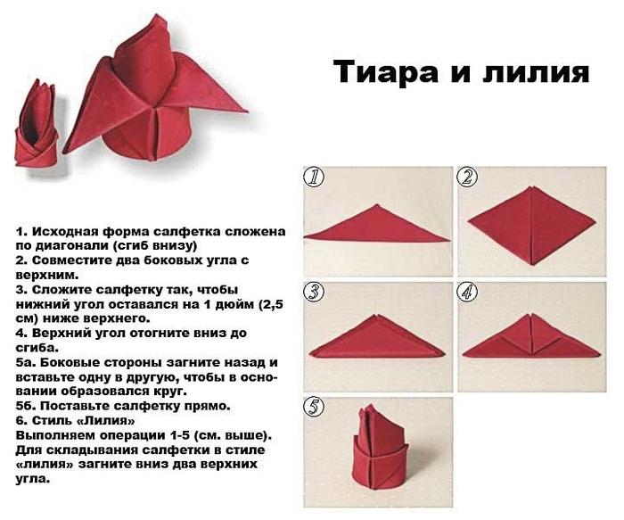 инструкция по складыванию