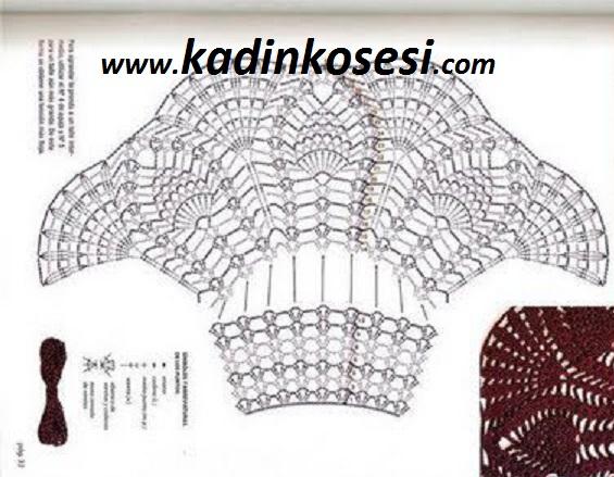 Бабочка крючком для детского летнего сарафана (4) (565x439, 193Kb)
