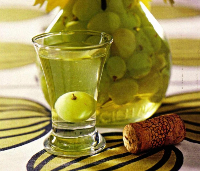 Наливка из винограда рецепт