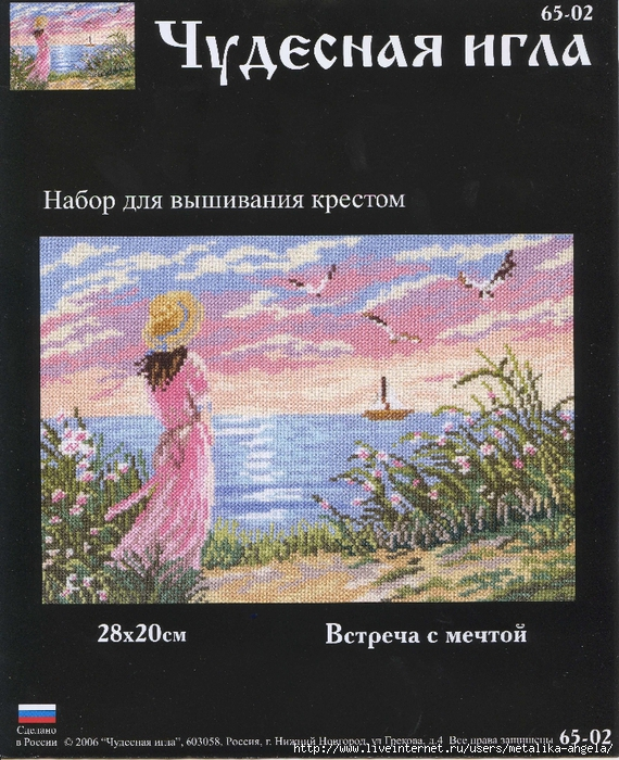 Чудесная игла #65-02 - Встреча с мечтой (570x700, 393Kb)