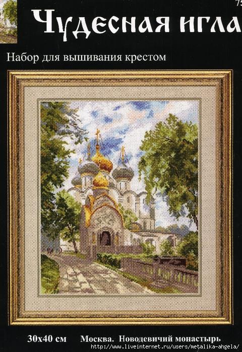 Чудесная игла #75-03 - Новодевичий монастырь (480x700, 362Kb)