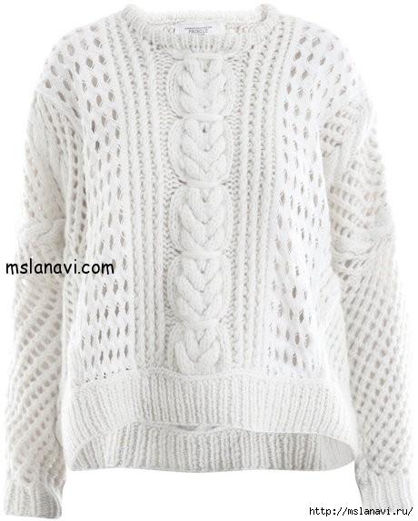 вязаные-пуловеры-спицами-2 (460x573, 125Kb)