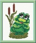 """Превью Чудесная игла Р""""#009 - Лягушонок (300x356, 67Kb)"""