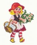 """Превью Чудесная игла Р""""#041 - Красная шапочка (408x500, 188Kb)"""