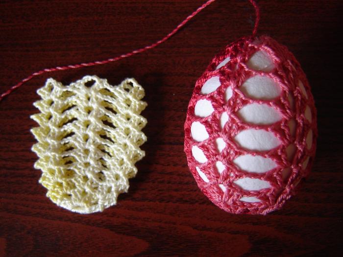 Пасхальные яйца ТЮЛЬПАНЫ. Вязание крючком (1) (700x525, 473Kb)