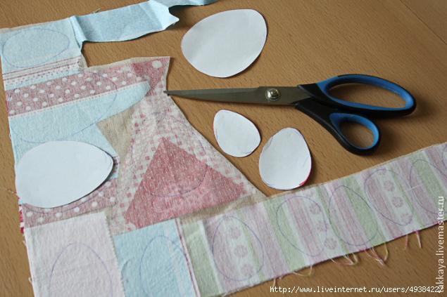 """手工布艺教程:""""复活节的桌布"""" - maomao - 我随心动"""