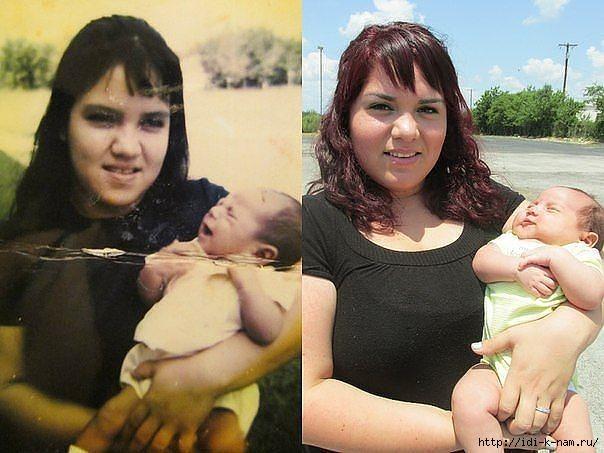 мама и дочь 40 лет спустя (604x453, 153Kb)