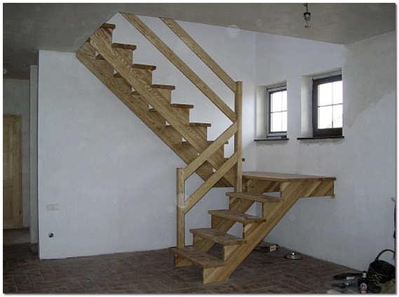 Фото лестница деревянная своими руками