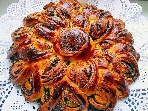 Бабушкин пирог с маком (500x375, 86Kb)