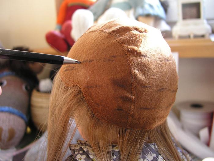 Как из шиньона сделать парик для