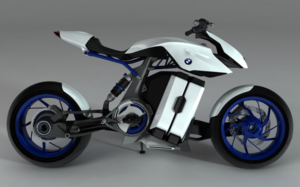 концепт экологичного мотоцикла BMW HP Kunst фото 1 (600x374, 173Kb)