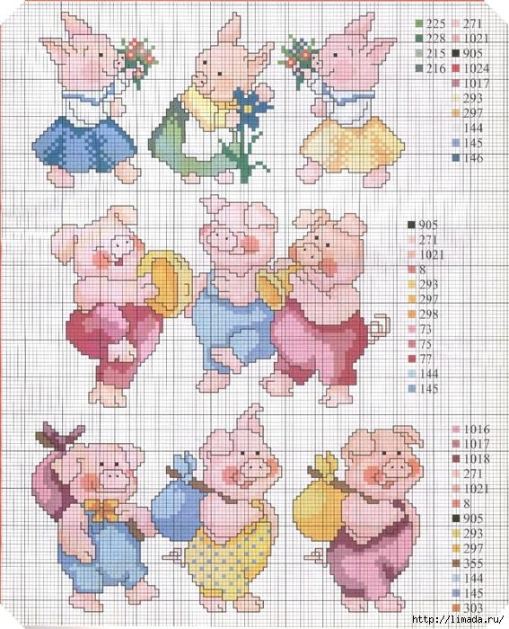 porquinhos diversos2 (567x700, 392Kb)