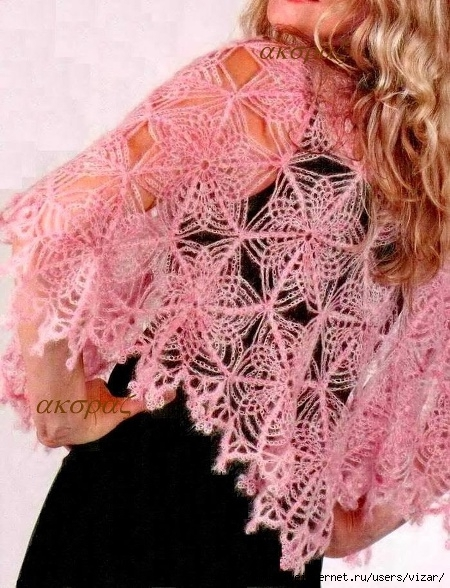 Crochet-lace-cape-pattern-women sjal 15 (1) (450x588, 234Kb)