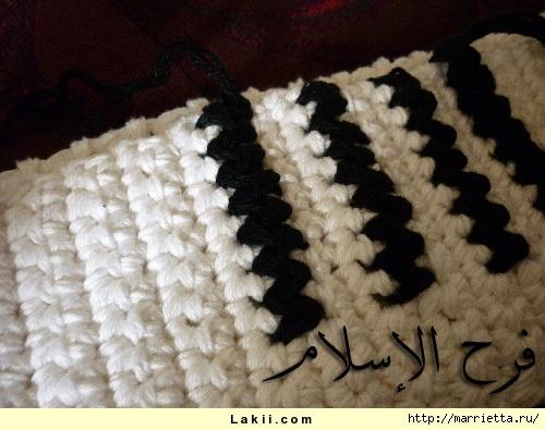 Вязание крючком. Коробочка для салфеток (2) (500x395, 152Kb)
