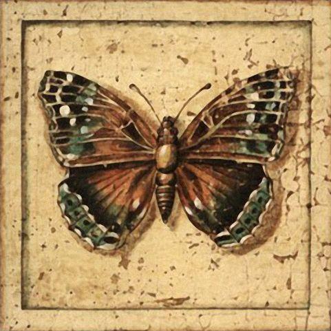 Бабочки и другие насекомые. Картинки для декупажа (4) (481x481, 208Kb)
