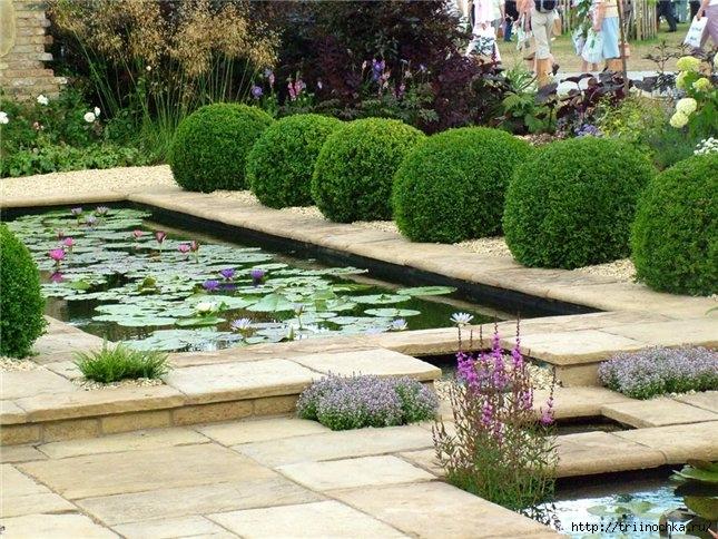Декоративный пруд на вашем участке