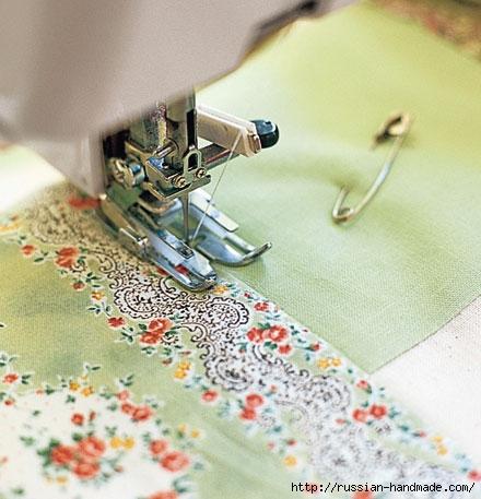 Шьем одеяло в технике ПЭЧВОРК. Учебный курс (12) (440x457, 133Kb)