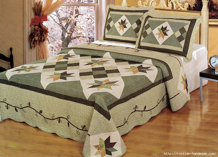 Шьем одеяло в технике ПЭЧВОРК. Учебный курс (19) (700x505, 366Kb)