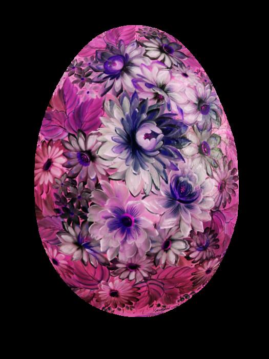 Схема пасхального яйца из