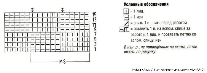 vyazanyiy-spitsami-shema (