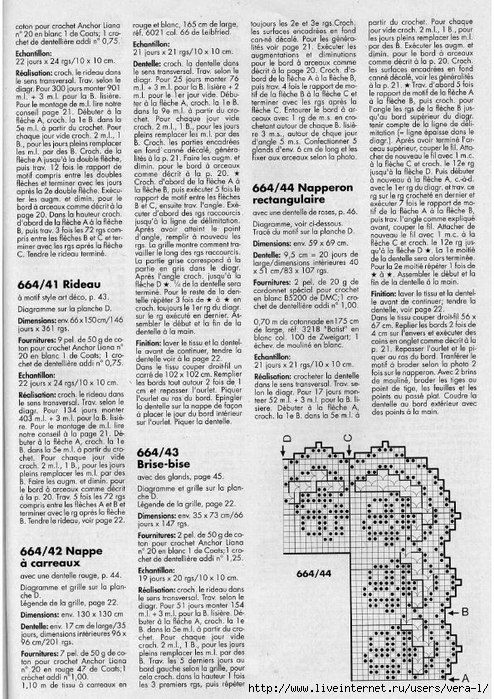 Burda special - E664 - 1982_FRA - Filet au crochet_47 (494x700, 358Kb)