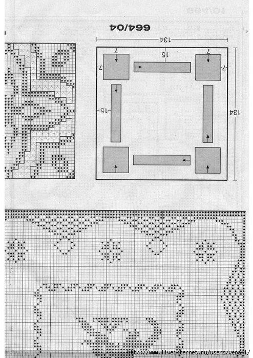 Burda special - E664 - 1982_FRA - Filet au crochet_51 (494x700, 258Kb)