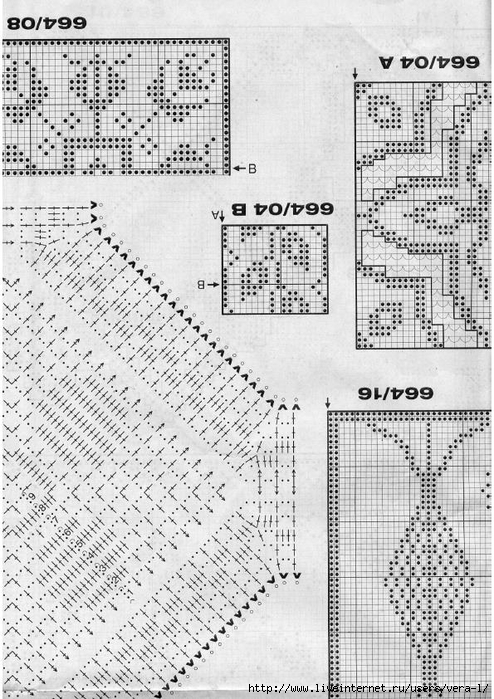 Burda special - E664 - 1982_FRA - Filet au crochet_53 (494x700, 321Kb)