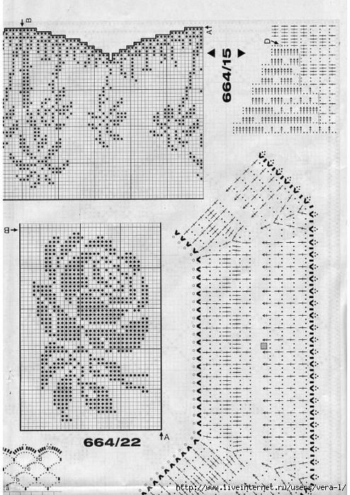 Burda special - E664 - 1982_FRA - Filet au crochet_57 (494x700, 305Kb)