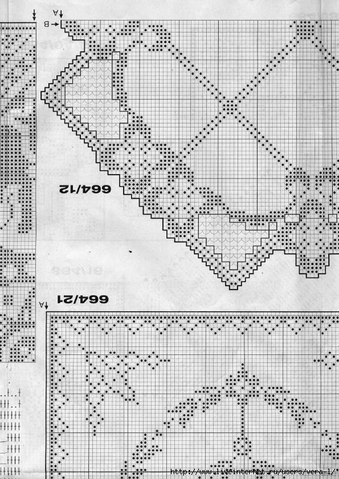 Burda special - E664 - 1982_FRA - Filet au crochet_60 (494x700, 298Kb)
