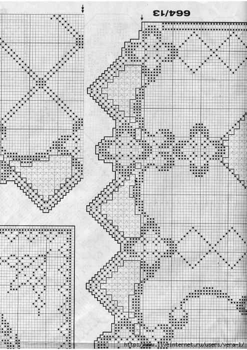 Burda special - E664 - 1982_FRA - Filet au crochet_62 (494x700, 307Kb)