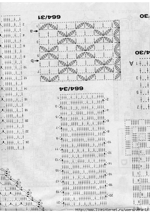 Burda special - E664 - 1982_FRA - Filet au crochet_71 (494x700, 289Kb)