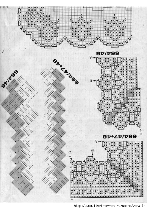 Burda special - E664 - 1982_FRA - Filet au crochet_75 (494x700, 297Kb)