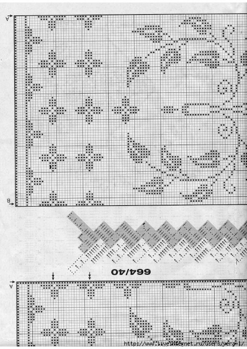 Burda special - E664 - 1982_FRA - Filet au crochet_81 (494x700, 294Kb)