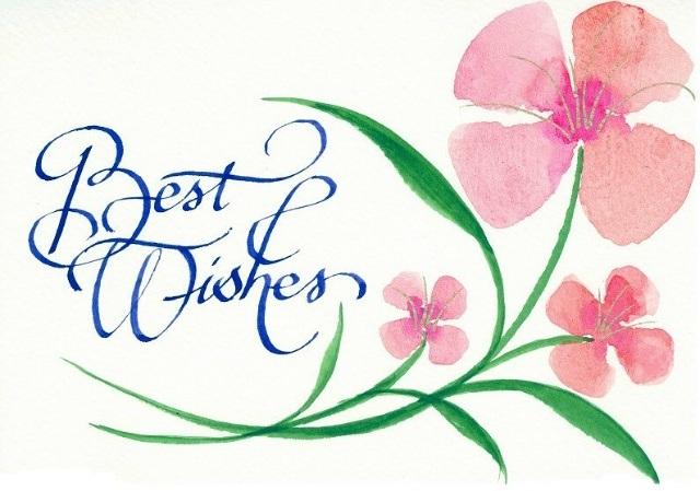Поздравления на английском с наилучшими пожеланиями