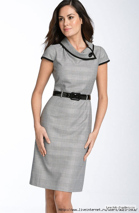 Как сшить платья в офис 60