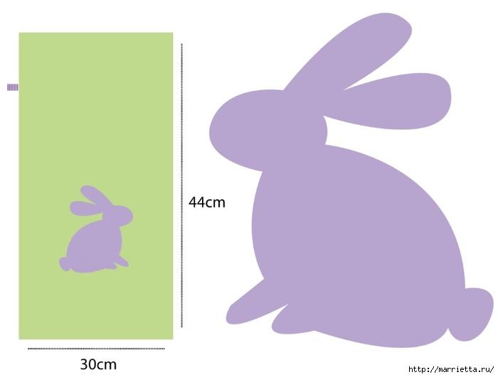 Мешочки с детской аппликацией для подарков к Пасхе (2) (700x531, 56Kb)