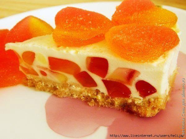 Торт-желе Нежность без выпечки1 (600x450, 133Kb)